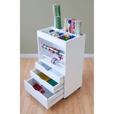 Shop for Studio Designs White Crafts and Hobby Wrapping Paper Cart. Get free delivery at Overstock.com - Your Online Scrapbooking Shop! Get 5% in rewards with Club O!