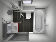 complete kleine badkamer