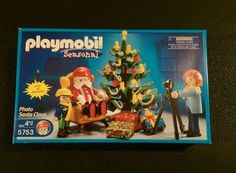PLAYMOBIL CHRISTMAS 5753 Photo Santa Claus NEW Sealed Retired Hard to Find #PLAYMOBIL