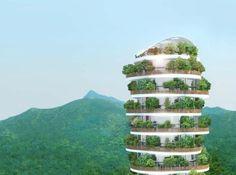 Canopy, the multi-storey skyscraper with private gardens