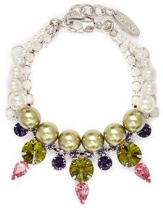 Crystal Pearl JOOMI LIM bracelet on shopstyle.com