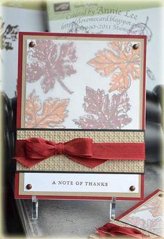 Thanks to the Teachers by lovemycards - Cards and Paper Crafts at Splitcoaststampers