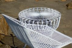 Bertoia-Inspired Seating, by Way of LA