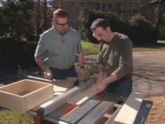 How To Make Cabinet Drawers
