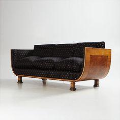 Soffa Art Deco