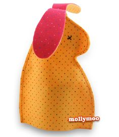 Free pattern: Felt bunny Easter egg cosy