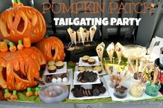 Who says tailgating is only for football? Host one at a pumpkin patch!