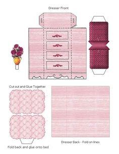 Free Printable Dollhouse Furniture | Found on blackwidow12.wordpress.com