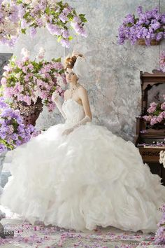 What a gorgeous collection for Wedding Inspiration - The Lilac Bridal Collection. Just a beautiful shot