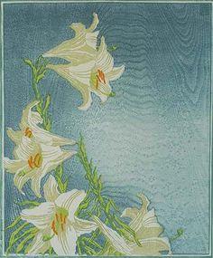 Lilies (Lilien) - CARL THIEMANN