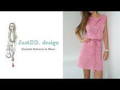 How to crochet the Diamond Dress part 1 ENGLISH – Home Decorations, Closet Organization Crochet Bodycon Dresses, Crochet Blouse, Knit Dress, Knit Crochet, Prom Dress Shopping, Online Dress Shopping, Dress Patterns, Crochet Patterns, Pattern Dress