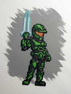 Halo - Master Chief Bead Sprite