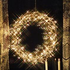 CURLY dekorativ LED-krans