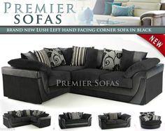 images Corner Sofa, Ranges, Lush, Sofas, Armchair, Brand New, Living Room, Fabric, Furniture