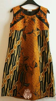 Batik dress sogan