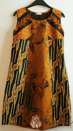 Batik dress sogan
