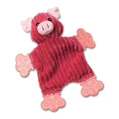 PetRageous Designs FlipRageous Paige the Pig Dog Toy   Toys   Dog