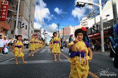 Okinawa Eisa Festival Girls