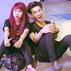 With my beloved boyfriend