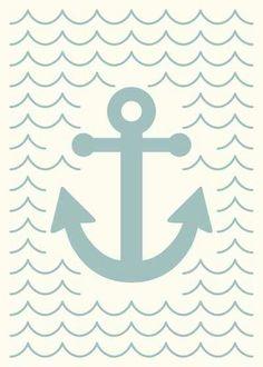 Wallpaper   anchor   background  for text   @Valerie Uhlir   Blue   almond colors