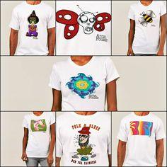 Estampas únicas criadas por artistas? Temos! Basta curtir a fanpage. Compre pelo site em todo Brasil.  annapoulain.com