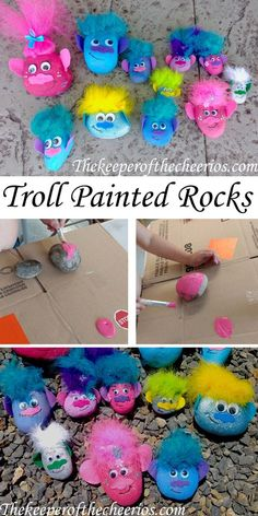 Are you ready to burning and improving your brain by having fun with Troll questions? Brain Troll Game is a new free brain training game. Are you ready to improve your IQ? Rock Crafts, Crafts To Do, Diy Crafts For Kids, Projects For Kids, Craft Projects, Arts And Crafts, Easy Crafts, Camping Crafts For Kids, Homemade Crafts