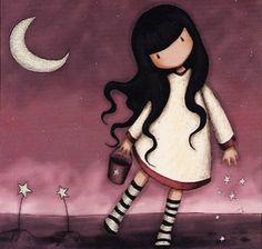 moon & stars   -  by gorjuss