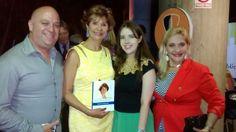 Con mis amigos de Deseo Rebajar y la periodista Ysabel Velásquez