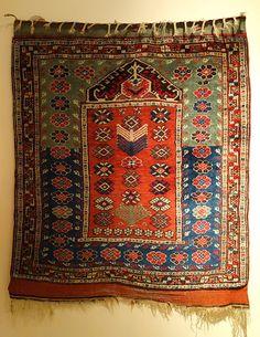 Bergama prayer rug, late 19th century http://en.wikipedia.org/wiki/Prayer_rug