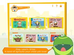 Joy Sprouts app was created by educational professionals and its award winning games and activities develop a range of important skills to help your child's total development.