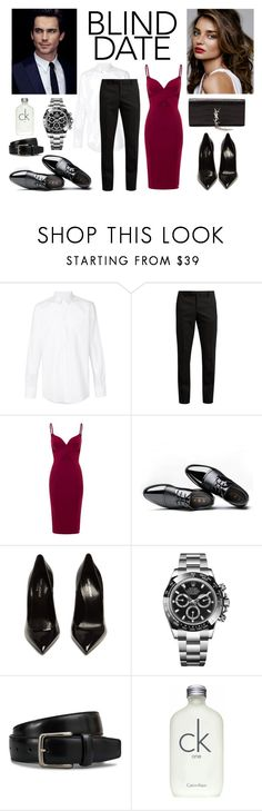 """""""Blind Date : First Meeting Contest"""" by anthi-poza ❤ liked on Polyvore featuring Dolce&Gabbana, Yves Saint Laurent, Kerr®, Aloura London, Rolex, Tod's, Calvin Klein, contest, YSL and date"""