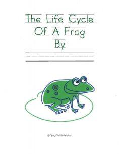 Frog Life Cycle Printable Easy Reader