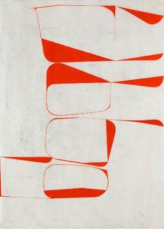 Katrin Bremermann, XL 4, 2014, laque sur papier ciré, 80x60cm