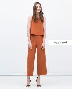 #zaradaily #weekend #woman #trousers