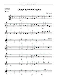 Adriano Dozol - Dicas, Partituras Grátis e Vídeos - Teclado | Piano                                                                                                                                                                                 Mais Violin Songs, Guitar Sheet Music, Guitar Art, Musical Gospel, Violin Online, Song Sheet, Music Score, Trombone, Music For Kids