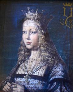 Queen Isabella of Castile mother of Katherine of Aragon, 1st wife of king Henry VIII.