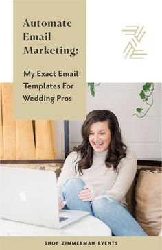 Automating Email: My Exact Email Templates — Arkansas Wedding Planner Florist Email Marketing Design, Email Marketing Campaign, Email Marketing Strategy, E-mail Marketing, Marketing Ideas, Business Marketing, Creative Business, Business Tips, Business Coaching