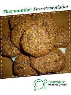 Ciasteczka owsiane - zdrowe i pyszne :-) jest to przepis stworzony przez użytkownika magi1. Ten przepis na Thermomix<sup>®</sup> znajdziesz w kategorii Słodkie wypieki na www.przepisownia.pl, społeczności Thermomix<sup>®</sup>. Banana Bread, Muffin, Cookies, Chocolate, Breakfast, Desserts, Food, Fitness, Kitchens