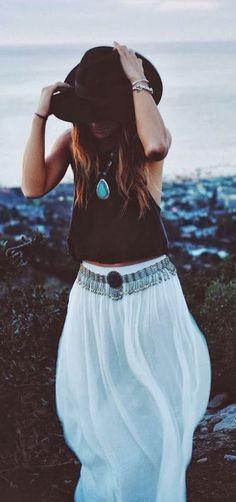 #street #style maxi skirt @wachabuy