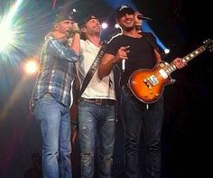 Dierks, Luke, and Cole