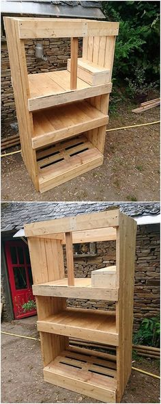 Recycling The Old Wood Pallet Has Always Remained Ultimate Choice Of House Makers In