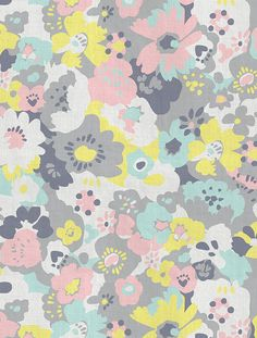 "wildflowers fabric + wallpaper in ""neapolitan"" by aimee wilder"