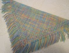 2 ft Tri-loom fine sett weaving. Sandra's Stitches