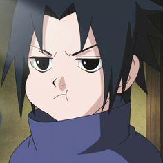 anime - naruto shippuden - uchiha sasuke kid - fanart
