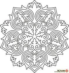 Оймо-чийме,-Кыргызские-орнаменты-и-узоры-(63)