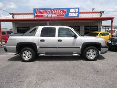 2004 Chevrolet Avalanche 1500 4dr Crew Cab 4WD - Montgomery AL2004 Chevy Avalanche Z71 looks new ,drives like new ,ice cold air,and hell hot heat,alloy wheels,keyless entry its a must see asking 11995 call us today you will be glad you did. Every Auto is hand picked ,serviced and detailed to make sure your purchase is the right one . Guaranteed Financing call us today 334-396-5560 or visit us online at www.johnnypearsonautosales.com