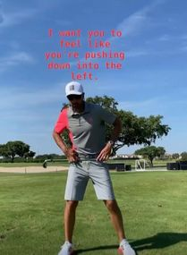 Hitting It Solid together with Zach Parker share a great drill to make a great golf downswing. Golf Downswing, Play Golf, Golf Score, Golf Chipping, Golf Instruction, Golf Putting, Golf Exercises, Best Start, Golf Training