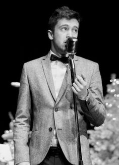 Tyler singing at Christmas at his church. :)