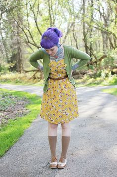 The Dainty Squid: what i wore - bright and sunny