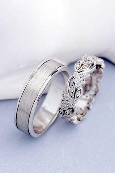 30c8f27af5b1 32 Originales Modelos de Anillos de Boda para tu Matrimonio ¡Soñados!